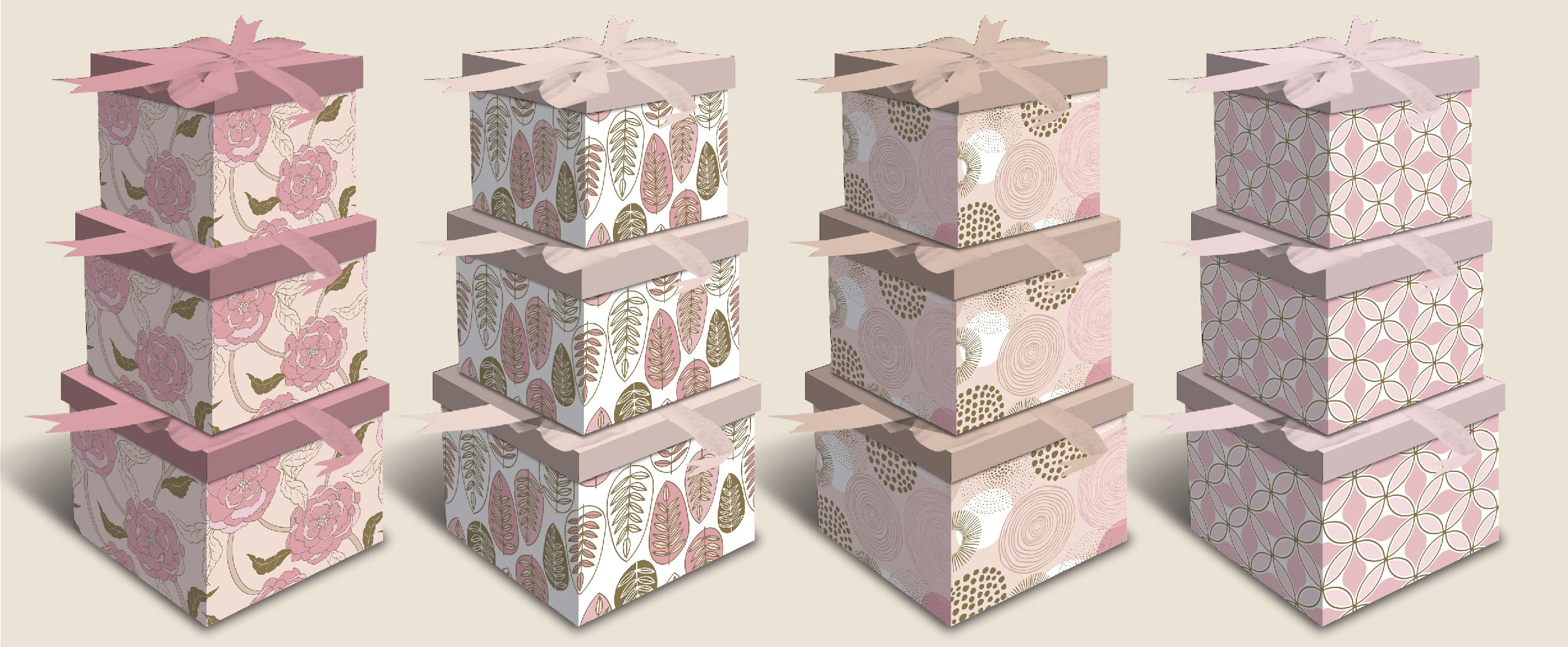 At First Blush Gift Boxes