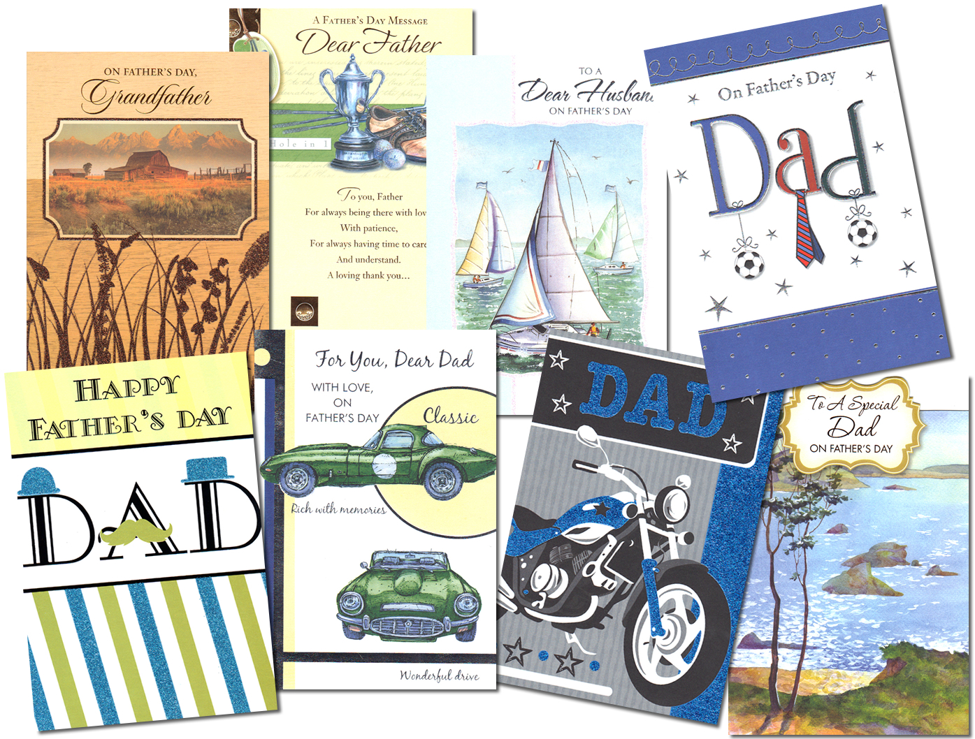Wholesale Fathers Day and Graduation Dollar Cards