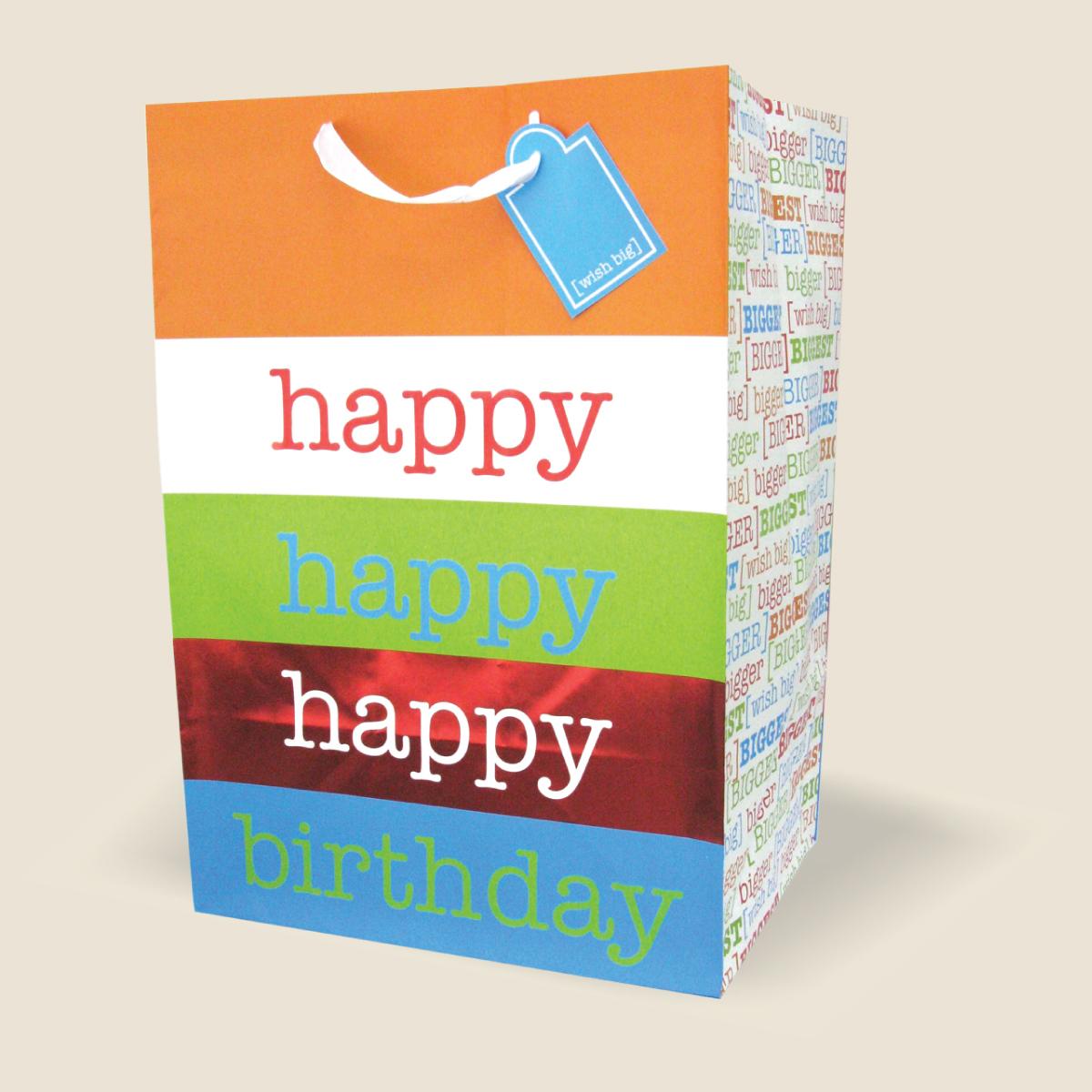 Colossal Birthday Gift Bag Wholesale