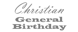 Christian Birthday