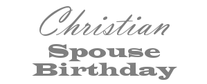 Christian Spouse