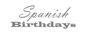 Spanish Birthdays