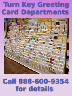Turn Key Card Departments