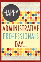 10001 - $3.99 Retail Each - Administrative Professionals Day PKD 3