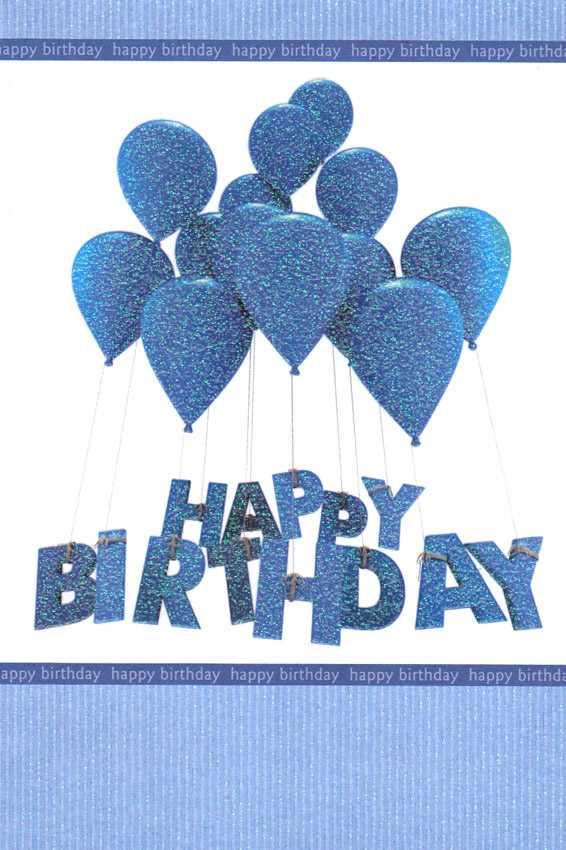 Wholesale Birthday Masculine Greeting Card 15789 1