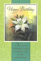 1018A - $2.80 Retail Each - Value Birthday Cards General PKD 6