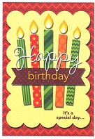 1024A - $2.80 Retail Each - Value Birthday Cards General PKD 6