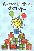 1034A - $2.80 Retail Each - Value Birthday Cards Humorous PKD 6