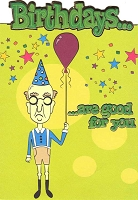 1238 - $3.49 Retail Each - Birthday Humorous PKD 6