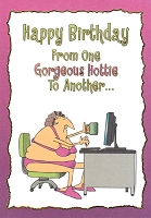 1240 - $3.49 Retail Each - Birthday Humorous Feminine Greeting Cards PKD 6