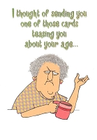 1242 - $3.49 Retail Each - Birthday Humorous Greeting Cards PKD 6