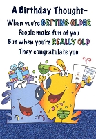 1251 - $3.49 Retail Each - Birthday Humorous Greeting Cards PKD 6