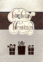 1708 - $5.99 Retail Each - Birthday General Religious PKD 3