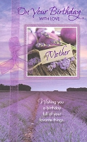 2107 - $5.99 Retail Each - Birthday Mother PKD 3