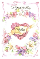 2115A - $2.80 Retail Each - Value Birthday Mother Cards PKD 6