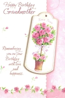 2303A - $2.80 Retail Each - Value Birthday Cards Grandmother PKD 6
