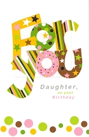 2514 - $3.25 Retail Each - Birthday Daughter PKD 6