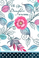 2518 - $3.99  Retail Each - Birthday Daughter Religious PKD 6
