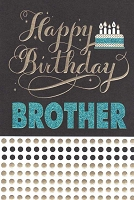 2819 - $3.99 Retail Each - Birthday Brother Religious PKD 6