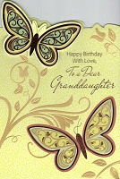 2901 - $4.99 Retail Each - Birthday Granddaughter PKD 3