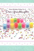 2906 - $3.99 Retail Each - Birthday Granddaughter PKD 6