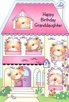 2913 - $3.99 Retail Each - Birthday Granddaughter Juvenile PKD 6