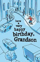3003 - $3.25 Retail Each - Birthday Grandson Teen PKD 6