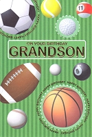 3017 - $3.49 Retail Each - Birthday Grandson PKD 6