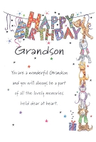 3018 - $3.99 Retail Each - Birthday Grandson PKD 6