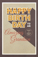3022 - $3.99 Retail Each - Birthday Grandson PKD 6