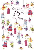 3387 - $3.99 Retail Each - Birthday By Age 18 PKD 6