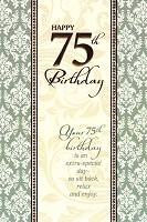 3411 - $3.99 Retail Each - Birthday By Age 75th PKD 6