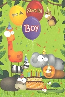 3520 - $3.49 Retail Each - Birthday Juvenile Boy PKD 6