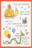 3524A - $2.80 Retail Each - Value Birthday Cards Nephew PKD 6