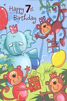 3586 - $3.99 Retail Each - Birthday Age 7 PKD 6