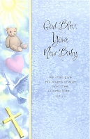 3620 - $2.95 Retail Each - New Baby Boy Religious PKD 6