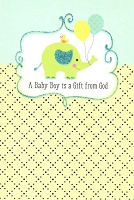 3619 - $3.99 Retail Each - New Baby Boy Religious PKD 6