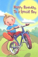 3623A - $2.80 Retail Each - Value Birthday Cards Juvenile Boy PKD 6