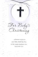 3818 - $4.99 Retail Each - Baby Christening PKD 3