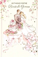 4011 - $3.99 Retail Each - Wedding Congratulations PKD 6