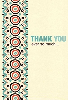 4200A - $2.80 Retail Each - Value Thank You Cards PKD 6