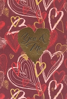 4303A - $2.80 Retail Each - Value Love Cards PKD 6
