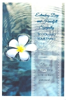 4923 - $3.99 Retail Each - Sympathy You & Family PKD 6