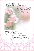 4999G - $3.99 Retail Each - Sympathy You & Your Family PKD 6