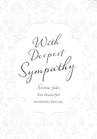 4999H - $3.99 Retail Each - Sympathy General PKD 6