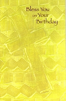 1704 - $3.25 Retail Each Religious Birthday PKD 6