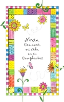 6501 - $2.00 Spanish Cards - Sweetheart Feminine Birthday PKD 6