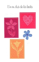 6510 - $2.50 Spanish Cards - Wedding PKD 6