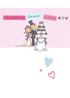 6516 - $2.95 Spanish Cards - Wedding PKD 6