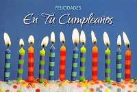 6726 - $2.80 Retail Each - Wrapped Spanish Cards - Birthday General PKD 6